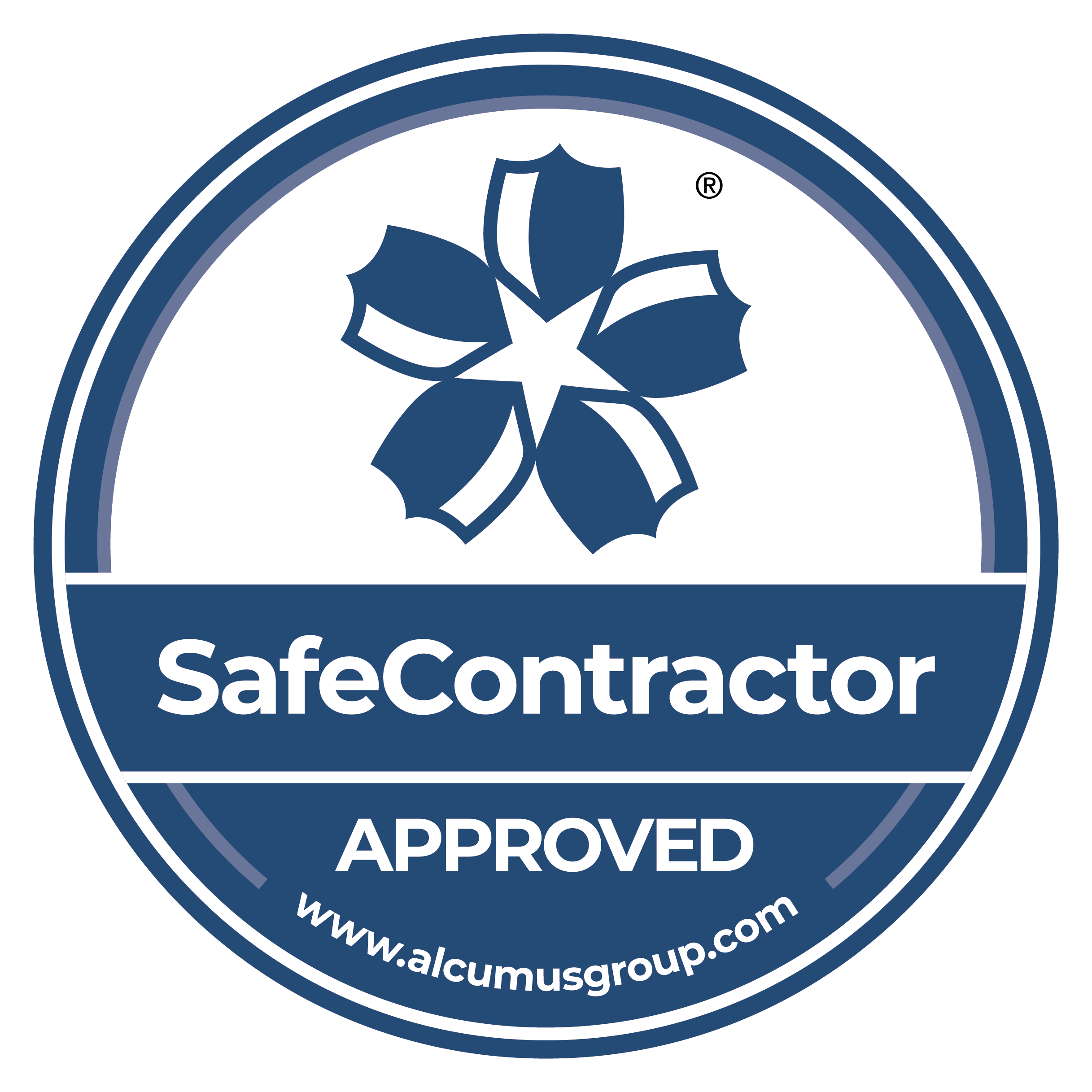 SafeContractor approved accreditation logo